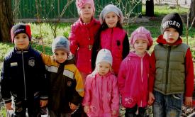 Ольга Подусова і її сім прийомних дітей