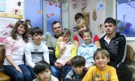 Сім'я Пєрєдєрій: Діти народжені серцем