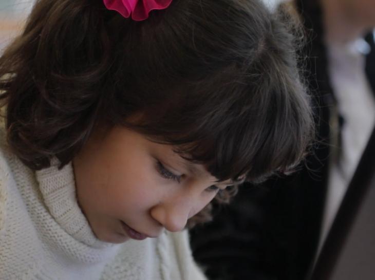 Dasha, 11 years, Donetsk region - Change one life