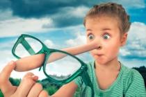 Звідки росте ніс: Як уникнути дитячої брехні. Попередити, щоб потім не