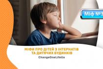 МіФ.III. Всі діти з інтернатів та дитячих будинків – неадекватні