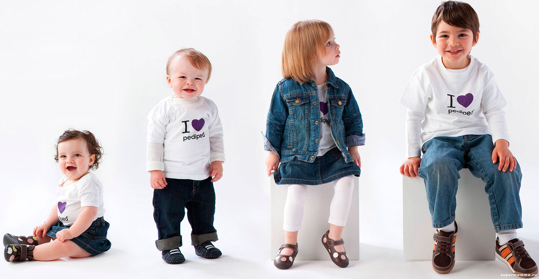 Фото разные возраста детей